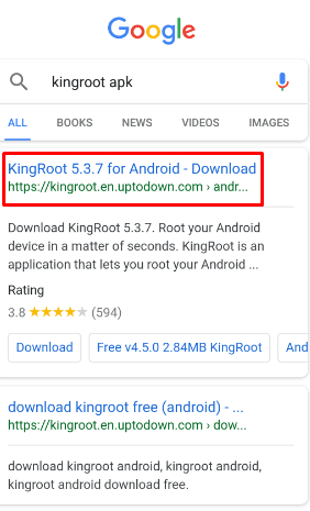 download king root