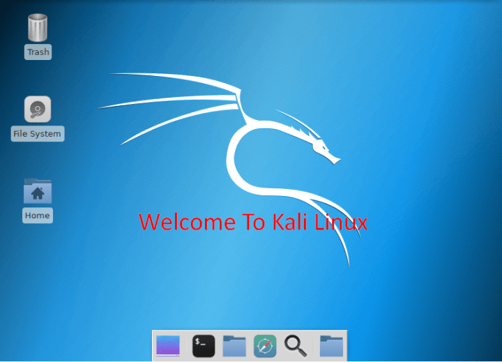 Kali Linux on Virtualbox