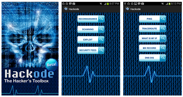 hackode hacking apps