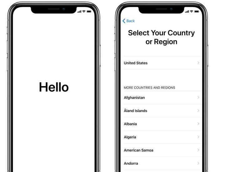 start iphone