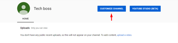 Customize Channel