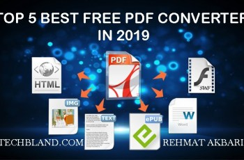 top 5 best free pdf converter in 2019