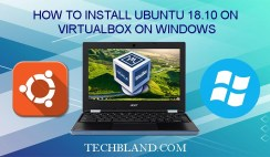 How to install ubuntu 18.10 on virtualbox on windows