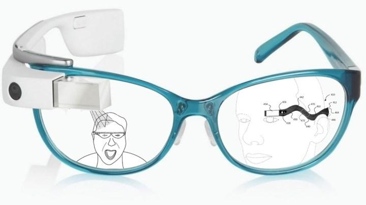 New technology Google Glass