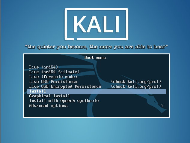 """how to install kali linux on vmware workstation"