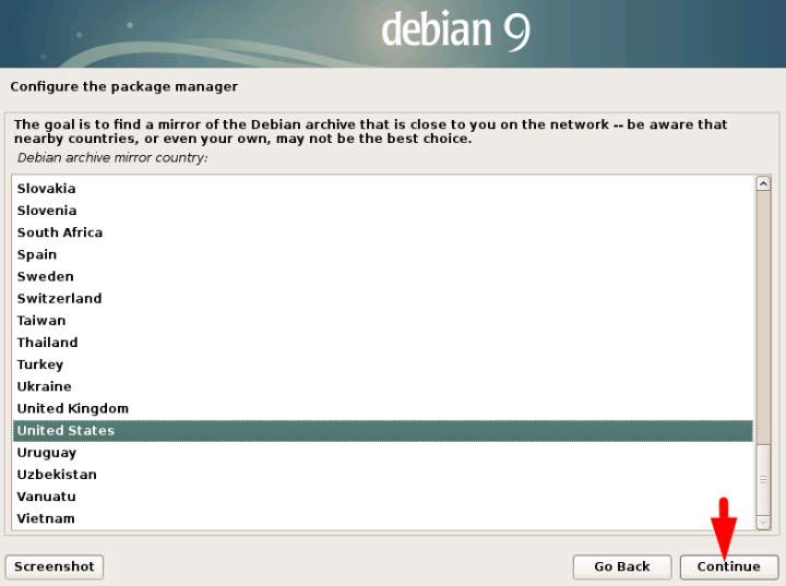 how to install debian 9 on vmware workstation on windows
