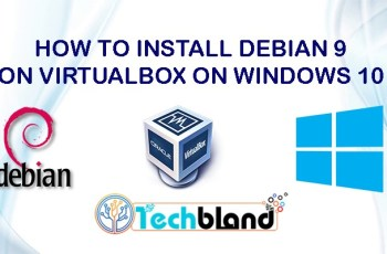 how to install debian 9 on virtualbox on windows