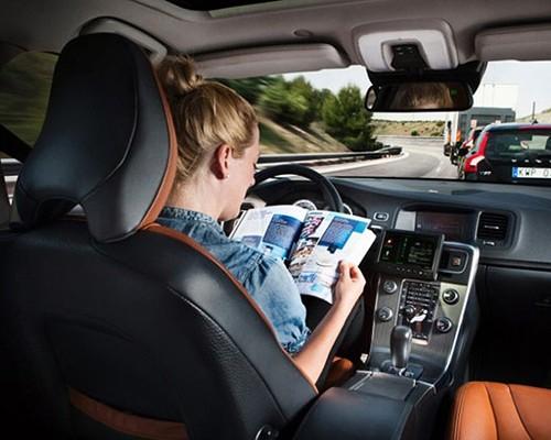 new technology Autonomous Driving (Robot Car).
