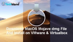 download macos mojave dmg file and install on vmware & virtualbox