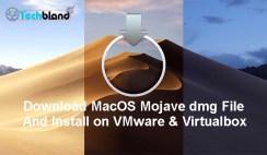 download macos mojave dmg file and install on vmware & virtualbox