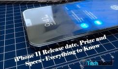 iPhone 11 release date