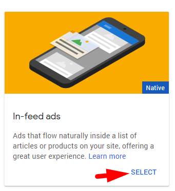 how to add adsense in-feed ads to wordpress site