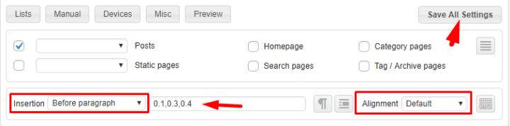 add adsense in feed ads to wordpress site
