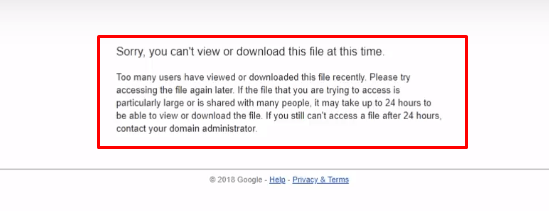 Sory you can't view or download this file at this time