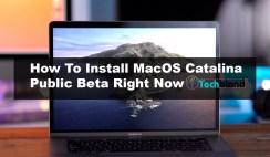How to install MacOS Catalina 10.15 Public Beta