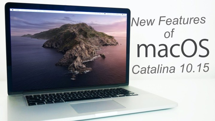 MacOS catalina 10.15 Features