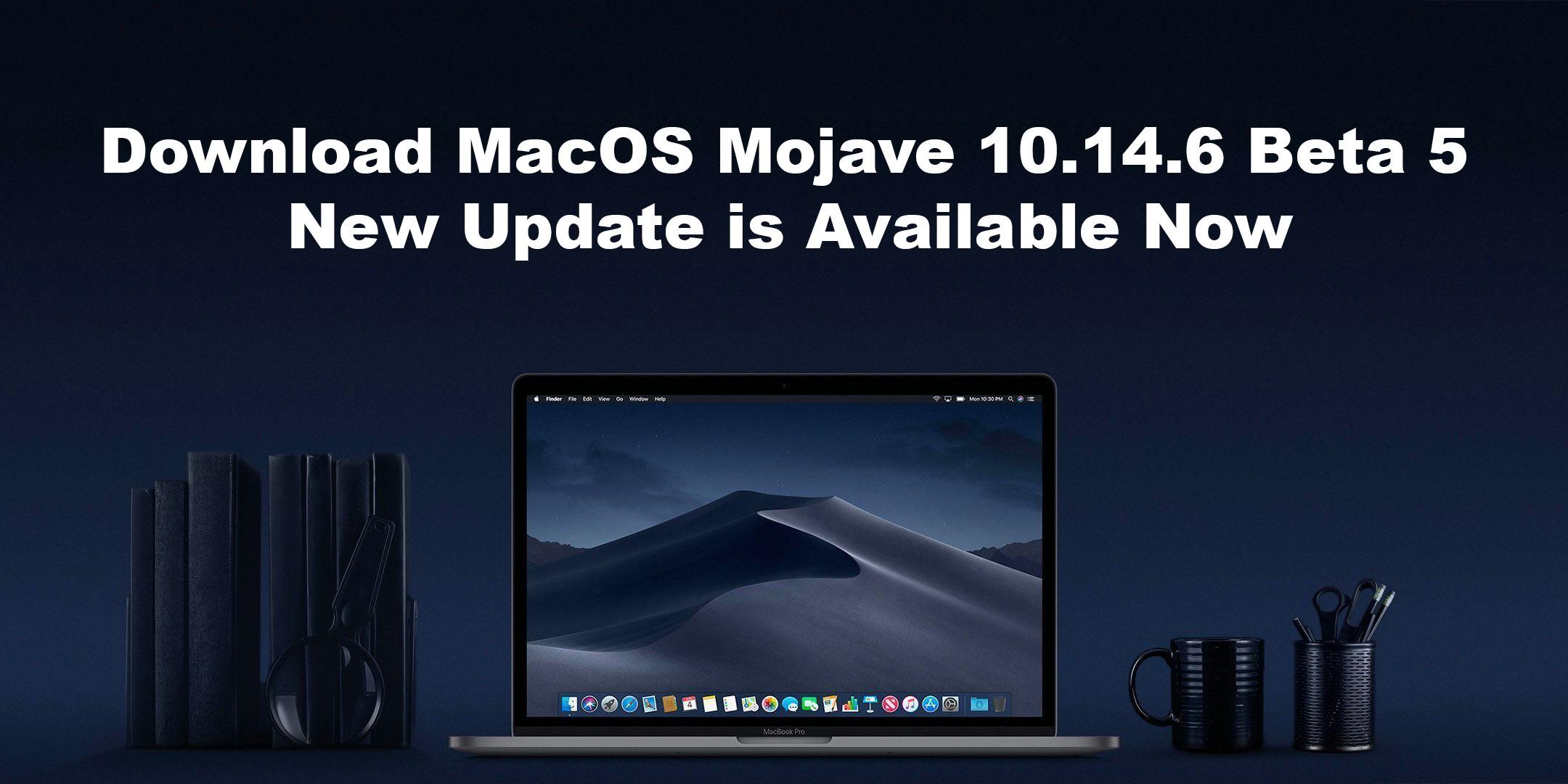 Download Macos 10.14 Mojave Beta
