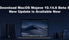 Download MacOS Mojave 10.14.6 Beta 5