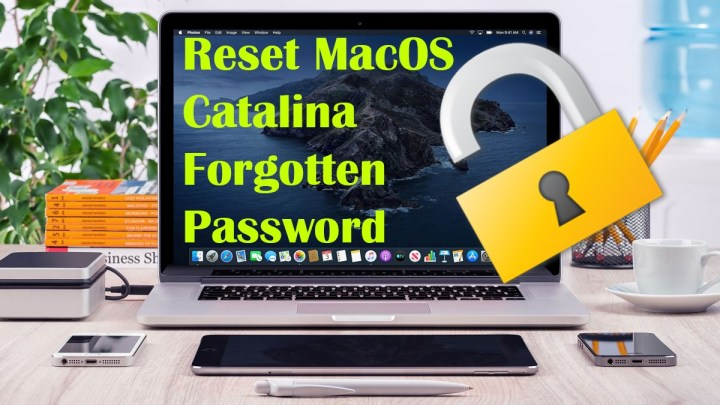 How to Reset MacOS Catalina Forgotten Password - Easy Way