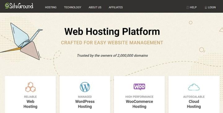 Web Hosting Platform for Bloggers