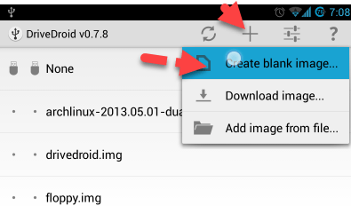 Create a Blank Image for Android