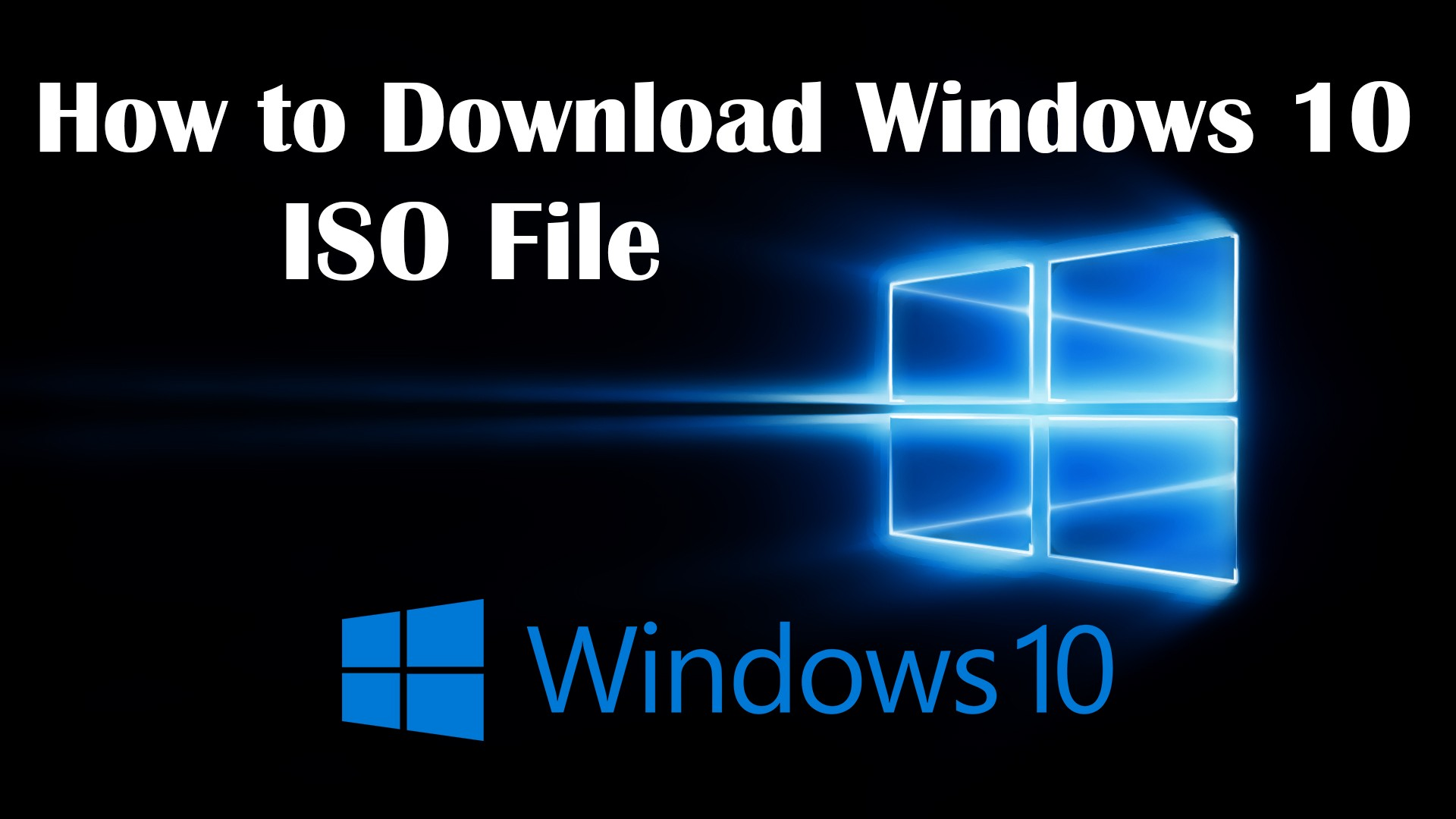 How to Download Windows 10 ISO File for Virtual Machines?