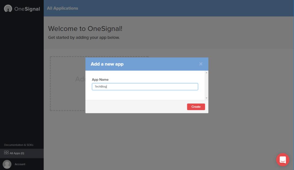Techblog - OneSignal - New App Name