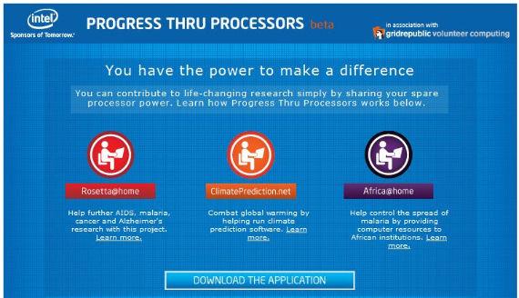 intel progress thru processors
