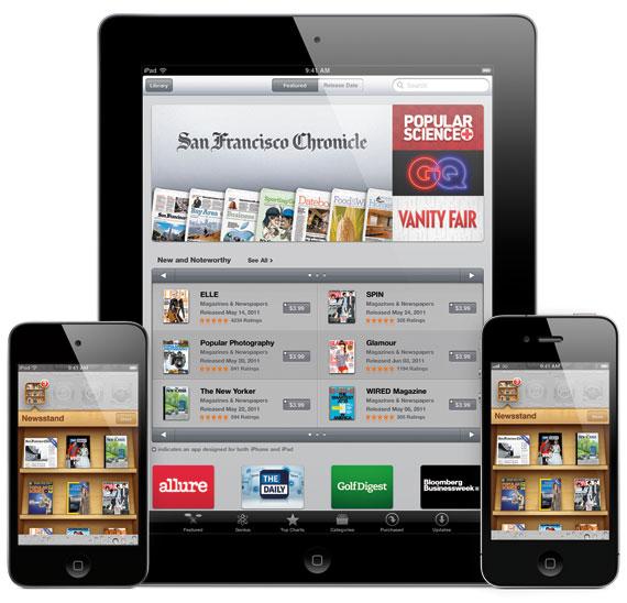 iOS 5 Newstand