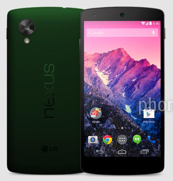 Nexus 5 green 1