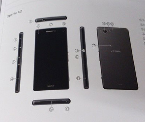 Sony Xperia A2 specs leaked