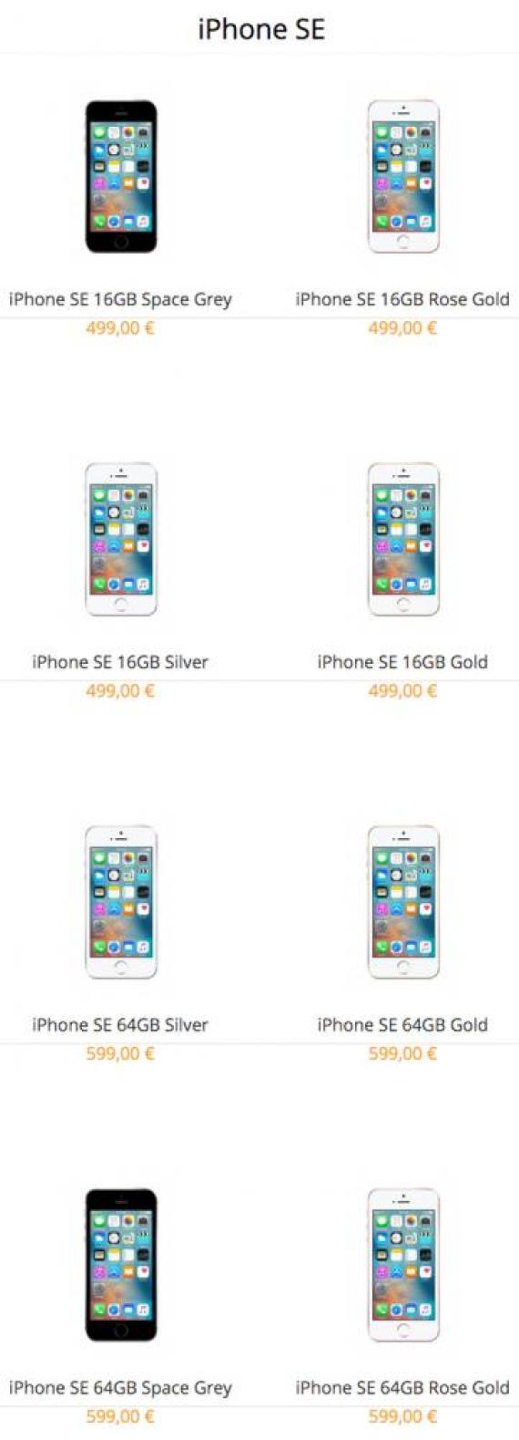 iPhone SE timi ellada 499 euro