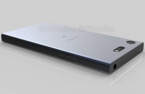 Sony Xperia XZ1 Compact renders