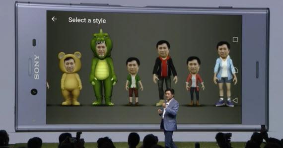 sony xz1 3d creator