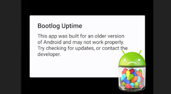older apps androidP