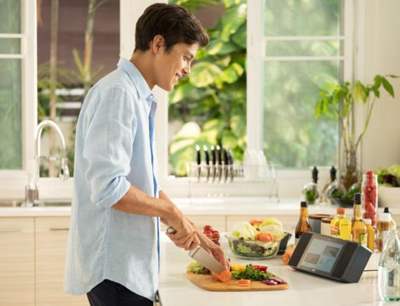LG Smart Kitchen WK9 Recipes CES 2019