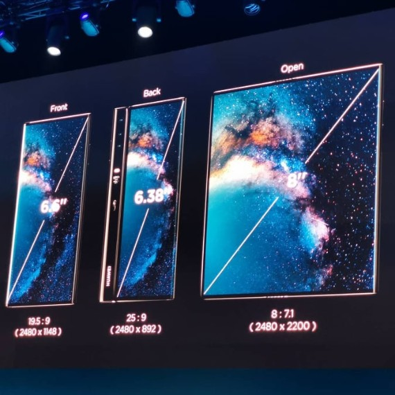 Huawei Mate X: Το πρώτο της 5G Foldable smartphone [MWC 2019]
