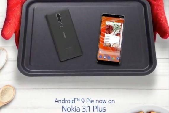Το Nokia 3.1 Plus υποδέχεται το Android Pie