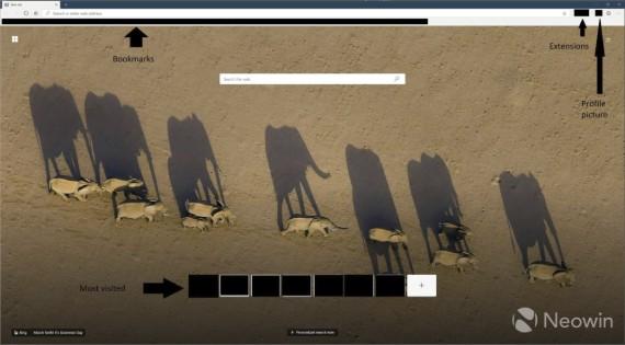Διέρρευσαν εικόνες του Microsoft Chromium Edge