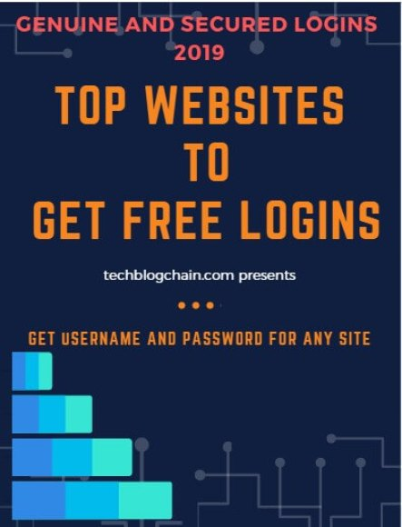 Get username and passwords for any website