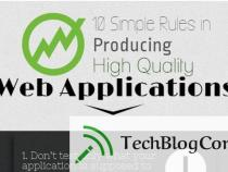 10 Simple Rules in Producing High Quality Web Applications