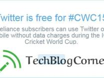 Reliance offers Twitter for free on #CWC15(ICC Cricket World Cup 2015)