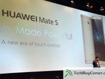 Huawei's Mate S will give competition to iPhone 6 Plus