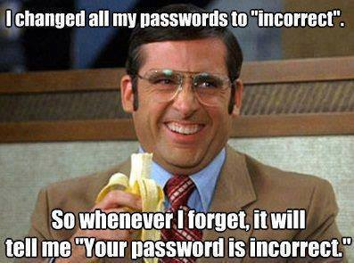 forget password
