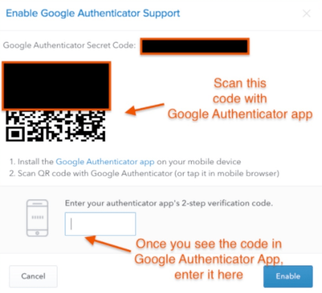 Google Authenticate