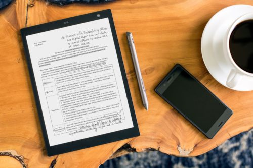 Sony Digital Paper Tech Blog Writer Podcast