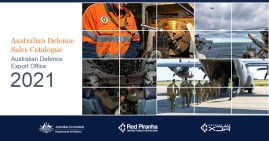 Red Piranha and Crystal Eye XDR included within the 2021 Australian Defence Sales Catalogue