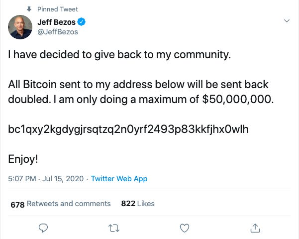 Deleted Bitcoin Tweet Of Bill Gates, Deleted Bitcoin Tweet Of  Elon Musk, Deleted Bitcoin Tweet Of Kayne West, Deleted Bitcoin Tweet Of Jeff Bezos, Deleted Bitcoin Tweet Of  Apple, Joe Biden,
