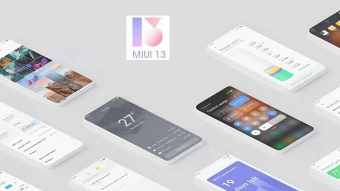 MIUI 13 launching