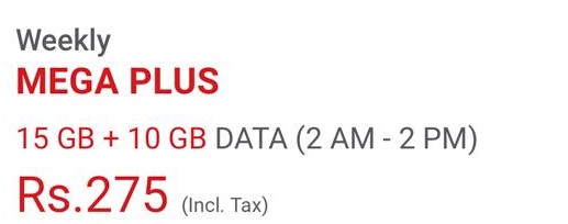 Jazz 4G Internet Packages